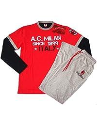 Pijama Chándal para Hombre AC Milan Ropa Equipos de fútbol   10318 fff9d1c9ab3e4