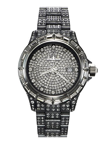 Toy Watch Grey Pave Watch TSC03GY