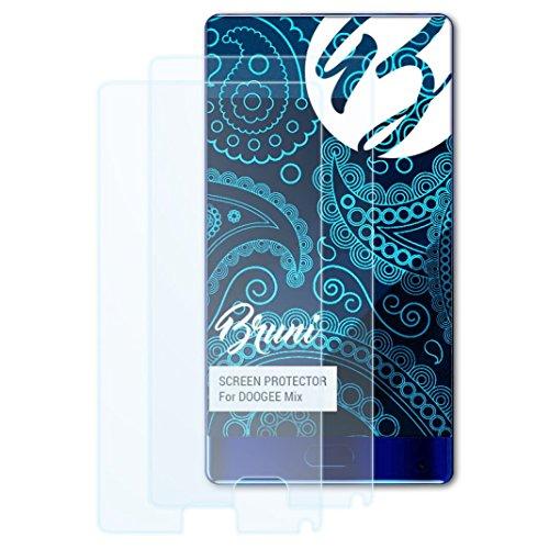 Bruni Schutzfolie kompatibel mit DOOGEE Mix Folie, glasklare Bildschirmschutzfolie (2X)