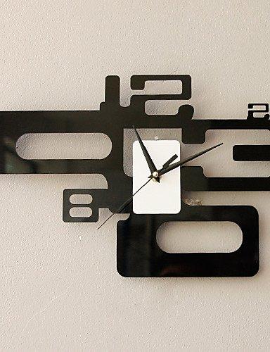 Orologio da parete moderno di moda in numero artistico caratterizzato il design