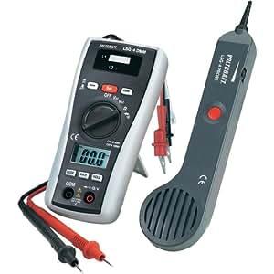 Multimètre numérique avec scanneur de ligne, détecteur de câbles VOLTCRAFT LSG-4 400 m