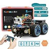 Keywish Kit de Auto Kit de Robot Inteligente para Arduino Hummer-BOT V1.0 Kit de Aprendizaje de Bricolaje, Carro de Control Remoto con UNO R3, Tutorial, módulos Bluetooth, Seguimiento de línea