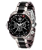 #6: Mikado Analogue Black Dial Men's Watch -RS2