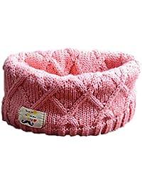 Bebé Bufandas,TININNA Otoño Invierno Niños Niñas Collar Bebé Bufanda de Lana Punto de Tubular Algodón Ring O Unisex