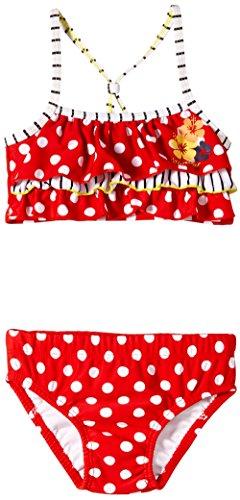Sterntaler Baby - Mädchen Zweiteiler Bikini, Gr. 92, Rot (erdbeere 805)