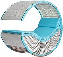 Imitación bambú - rota mimbre de mecedora / silla / longue / relajarse silla / relax silla / asiento