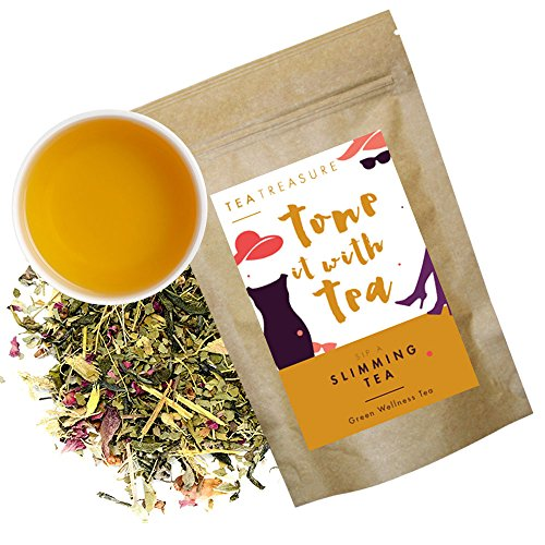 Tea Treasure Slimming Whole Leaf Tea (Slim tea, Natural Weight Loss) 50 Gms  available at amazon for Rs.199