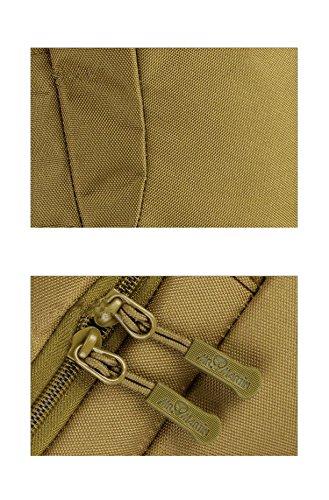 YAAGLE 20L 25L Freizeit Rucksack wasserdicht outdoor Gepäck Reisetasche Bersteigen Taschen Schultasche Laotoptasche Tarnung 1