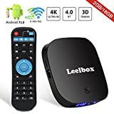 TV Box Android 7.1 Leelbox Q2 Pro Smart 3D TV Box 2GB +16GB Dual-WIFI 2.4GHz/5GHz with BT 4.0 4K Full HD H.265 Media Player Android Box
