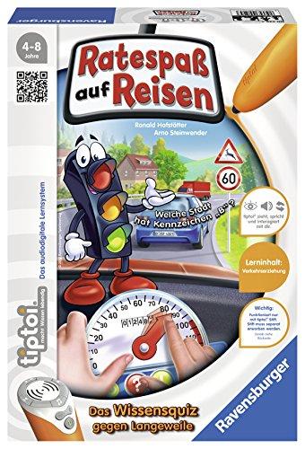 Preisvergleich Produktbild Ravensburger 00525 - Tiptoi Spiel Ratespaß auf Reisen