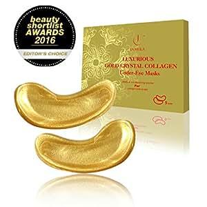 Jamela - 24k Gold Under Eye Masks (5 Pairs)