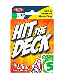 POOF-Slinky 0X8-28360 Ideal Hit The Deck Card Game, 108-Cards by Ideal TOY (English Manual)