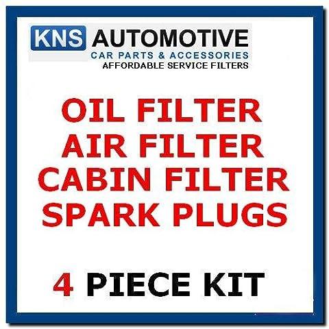 Toyota Yaris 1.3,1.5 (Petrol) Oil,Air,Pollen Filter & Plugs Service Kit
