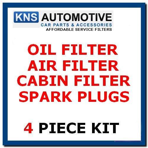 C30 1.8I, 2.0I à essence (2007-2014) Plugs, à l'huile, Air & filtre à pollen kit d'entretien