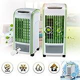 Raffreddatore d aria fredda ad acqua-TianranRT♕ 4 in 1 Air Cooler Green con umidificatore e deodorante per abitacolo a controllo remoto,verde