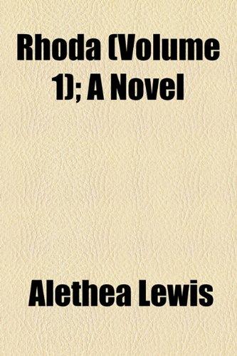 Rhoda (Volume 1); A Novel