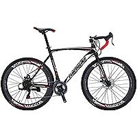 Eurobike Bicicleta de Carretera XC550 21 velocidades 49 cm / 54 cm Marco 700C Ruedas de