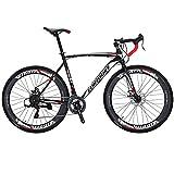 Eurobike Road Bike XC550 21 Speed 54 Cm Frame 700C Spoke Wheels Road