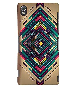 PRINTSWAG PATTERN Designer Back Cover Case for SONY XPERIA Z3