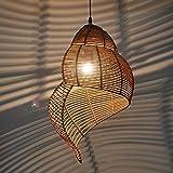 MSAJ-Das mediterrane Restaurant decke Led - lampen, rattan, bambus muschel kronleuchter lampen und leuchten