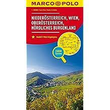 MARCO POLO Regionalkarte Österreich Blatt 1 Niederösterreich, Wien 1:200 000: Oberösterreich, nördliches Burgenland (MARCO POLO Karten 1:200.000)