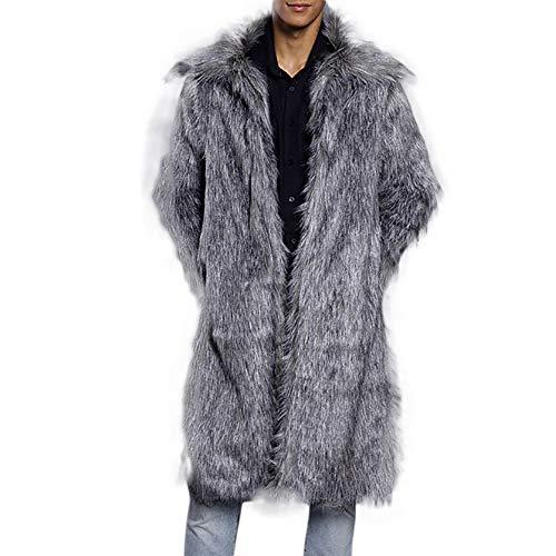 serliy Herren Outwear Warm Thick Collar Coat Jacket Fur Superhero Outwear Cardigan Faux Strickjacke lösen Skinny Karikatur Kapuzenmantel Mantel Kleidung langärmlig Knopfleiste schöne Langarmshirts -