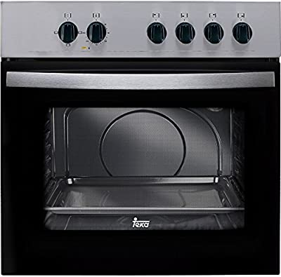 Teka HE 435 ME - Horno (59 L, 2550 W, Eléctrico, 2593 W, 220-240 V, 50 Hz) Negro, Acero inoxidable