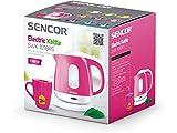 SENCOR SWK 1018RS - Bollitore con filtro rimovibile, 1 l, colore: Rosa