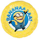 Minions Folienballon BANANAAA ø45cm - Party Ballon