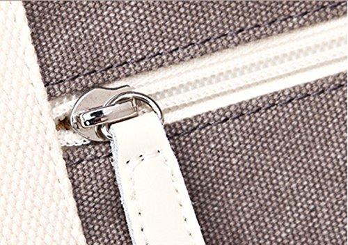 Keshi Leinwand neuer Stil Damen Handtaschen, Hobo-Bags, Schultertaschen, Beutel, Beuteltaschen, Trend-Bags, Velours, Veloursleder, Wildleder, Tasche See blau