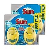 Sun Désodorisant Pour Lave-Vaisselle Expert Citron Duo Pack - Lot de 2