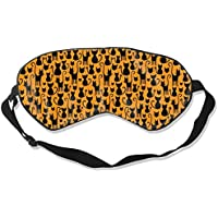 Natural Silk Eyes Mask Sleep Halloween Cats Blindfold Eyeshade with Adjustable for Travel,Nap,Meditation,Sleeping... preisvergleich bei billige-tabletten.eu
