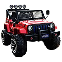XTY Remote Controlled Four Driven Swing Electric Car - Red