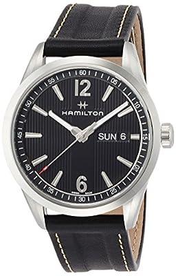 Hamilton Men's Analogue Quartz Watch with Leather Strap H43311735