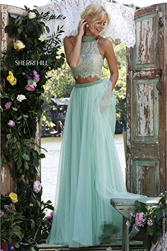 sherri-hill-32347-light-green-2-piece-ball-gown-with-crop-net-top-uk-6-us-2
