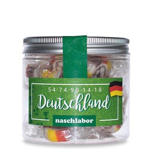 Deutschlands  Bonbon-Mix für die WM 2018 von Naschlabor - Der leckere Fan-Artikel für den gemütlichen TV-Abend auf der Couch oder für euer nächstes Public Viewing