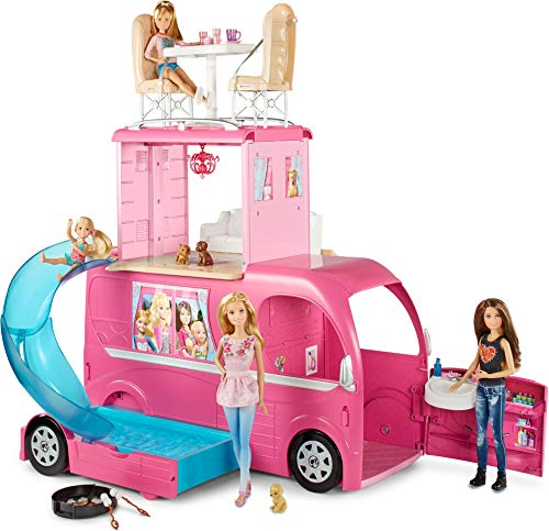 Barbie Caravana, accesorios para las muñecas (Mattel...