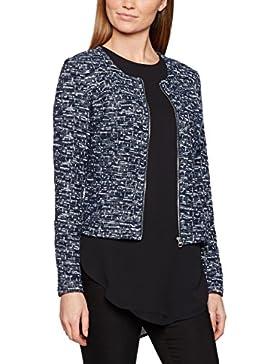 TOM TAILOR Damen Strickjacke Short Structured Zip Jacket