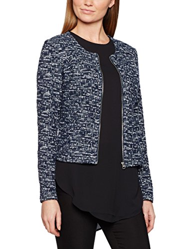 tom-tailor-short-structured-zip-jacket-chaqueta-punto-mujer-azul-real-navy-blue-46-talla-del-fabrica