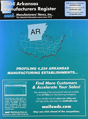2004 Arkansas Manufacturers Register