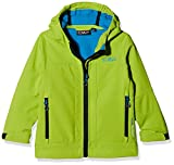 CMP Jungen Softshelljacke, Lime Green-River, 164, 3A00094