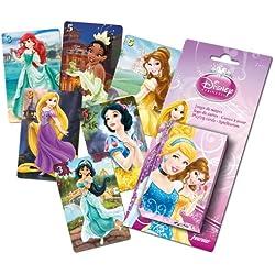 Princesas Disney - Baraja infantil con 40 cartas (Naipes Heraclio Fournier F43644)