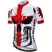 8ab615bfc weimostar Short Sleeve Cycling Jersey Men Full Zip Bike Shirt Running Top Bicycle  Clothes