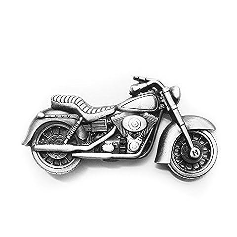 eeddoo® Gürtelschnalle - Motorrad - -Motorcycle - Biker Buckle (Buckle