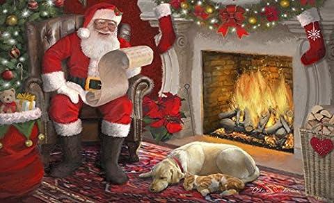 Toland Home Garden Santa