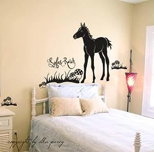 ilka parey wandtattoo welt pferdewandtattoo pferd fohlen pferdchen pferdetattoo mit namen. Black Bedroom Furniture Sets. Home Design Ideas