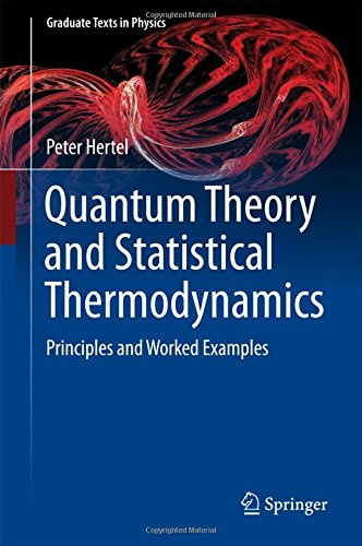 Quantum Theory and Statistical Thermodynamics: Principles and Worked Examples (Graduate Texts in Physics)