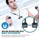 TaoTronics Bluetooth Kopfhörer 4.1 In Ear Wireless Headset mit Magnet bis zu 8 Stunden Spielzeit Spritzerfest CVC 6.0 Geräuschunterdrückung MEMS Mikro 15g kompatibel mit iOS Android Geräten