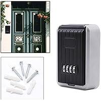 Hengda® Schlüsselsafe sicher Wandschlüsselsafe Keybox Zahlenschloss Wandmontage Rostfrei Garagen Einfach zu installation und benutzen Haus