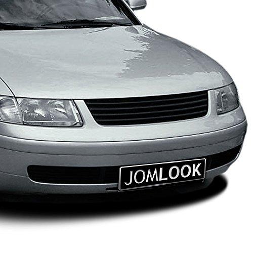 JOM Car Parts & Car Hifi GmbH 3B0853653OE Kühlergrill, Schwarz